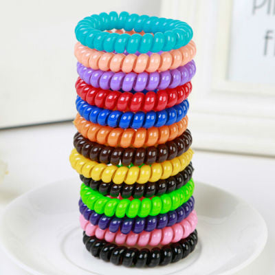 Black and Colorful Hair Plate Tools Donut Bun Maker Former Twist