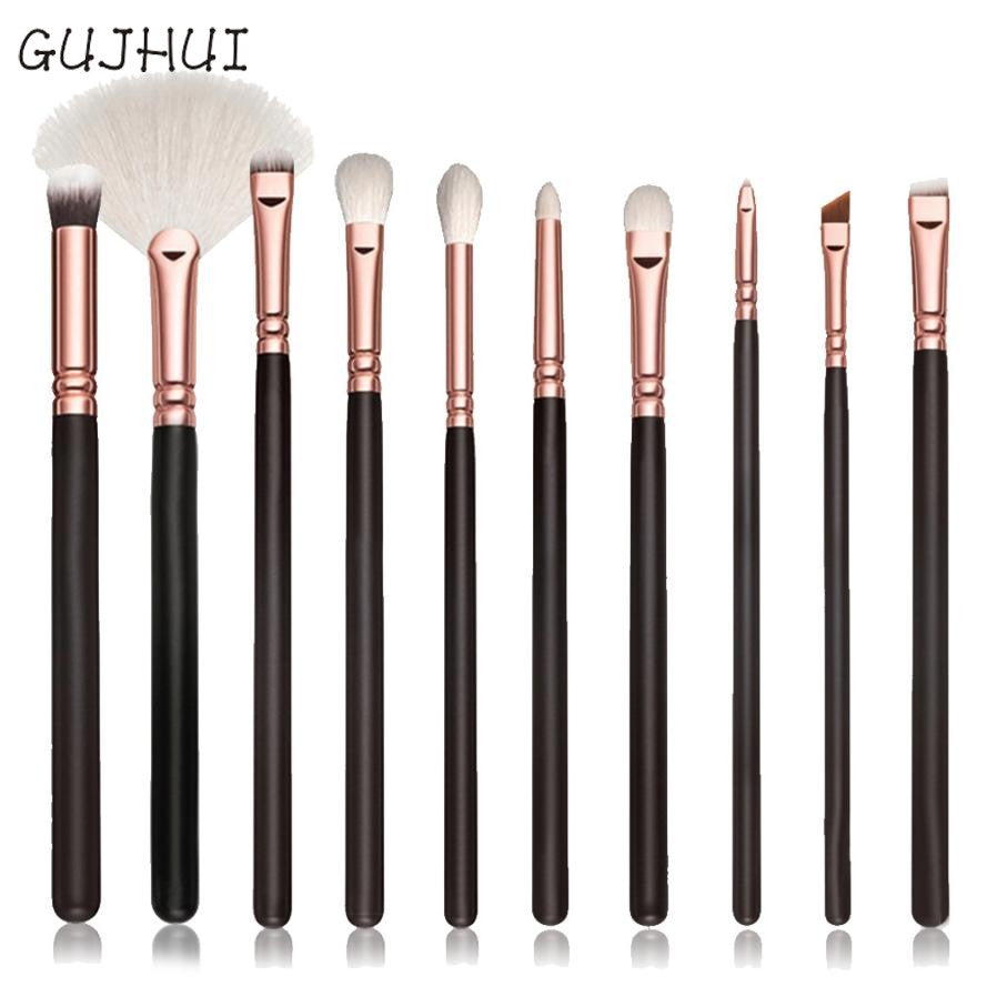 Beauty Girl 10 pcs New Fashion Cosmetic Makeup Brush Sets Kits Tools