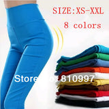 AB Artboor Spring 2014 New fashion Slim Elastic jeans Candy color pencil pants trousers Sexy women HOT SALE XS-XL
