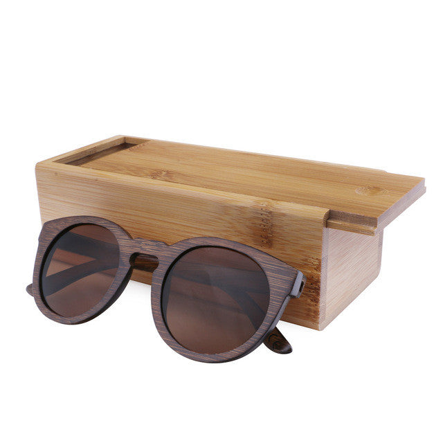 BerWer Sun glasses for men and women polarized new fashion wooden