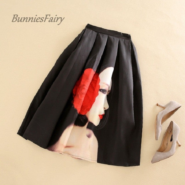BunniesFairy Brand 2017 Spring New Hepburn Chic Vintage Fashion