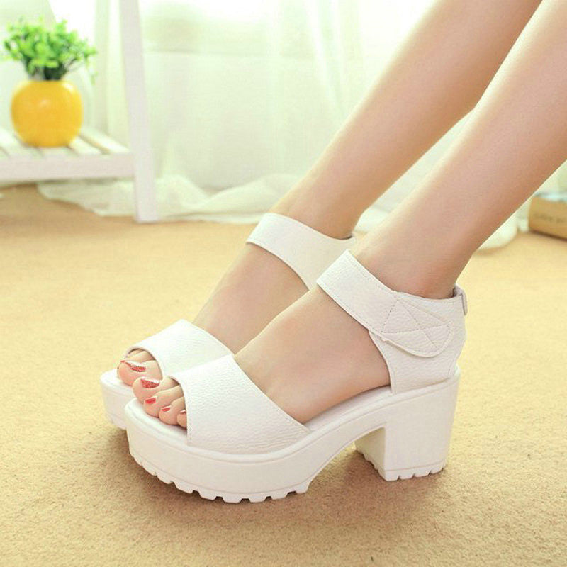 Big Size 35-41 Fashion Party Shoes Woman Sexy High Heels Summer