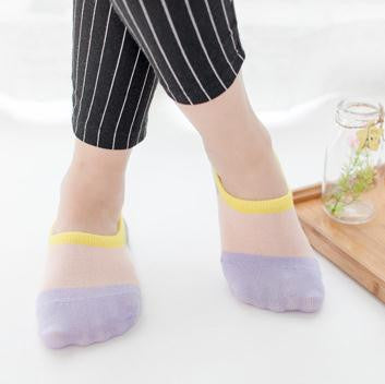 5Pairs Women's Socks Short Fashion Invisible Socks For Women Brief