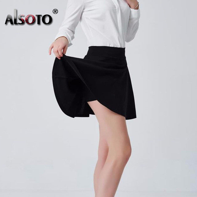 ALSOTO Summer style sexy Skirt Women Clothing Bottoms Korean Anti
