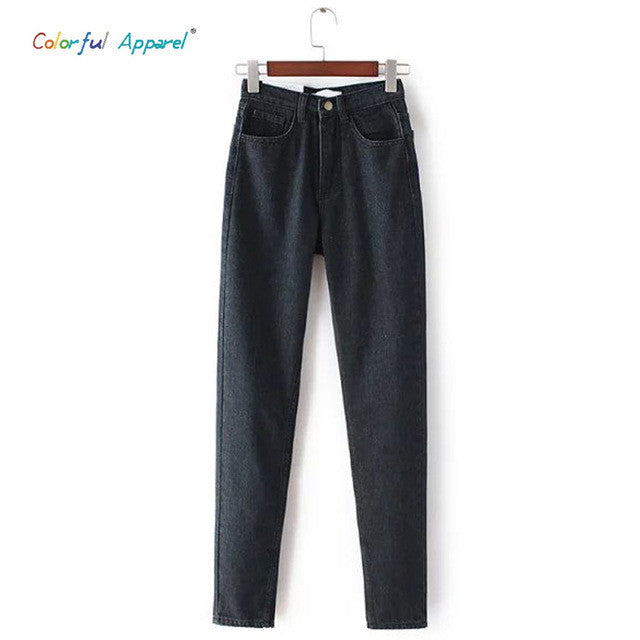 [B-222] 2014 spring new womens high cowboy harem pants vintage