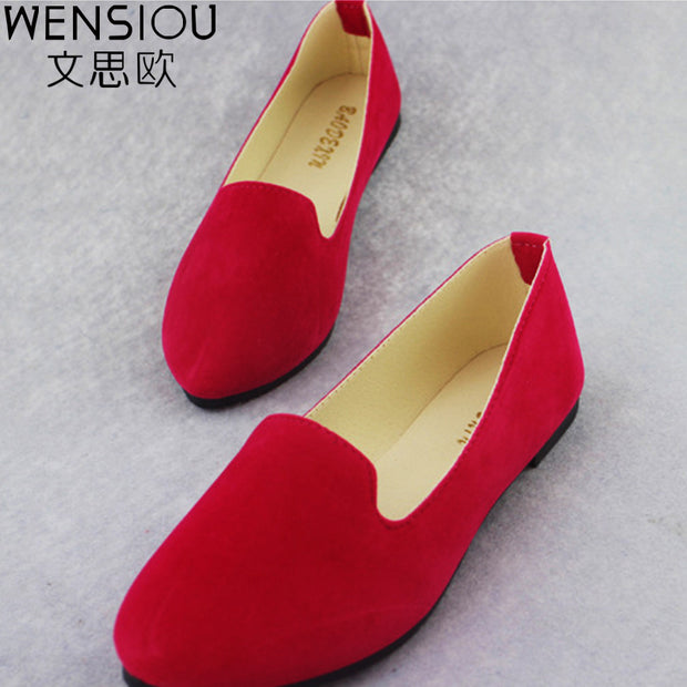 summer Women Flat Shoes casual Slip On Plus Size Woman Loafers Women's