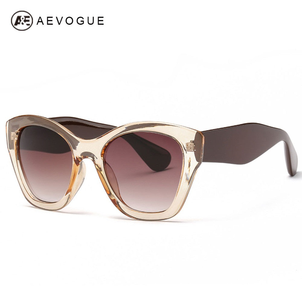 AEVOGUE Newest Butterfly brand Eyewear Fashion sunglasses women hot