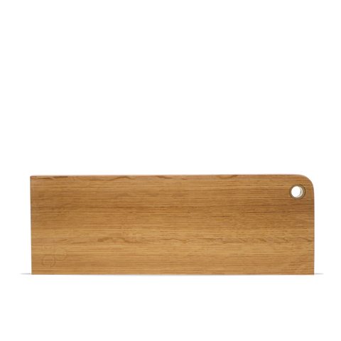 Hardwood & Brass Serving Board