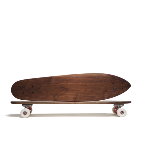 Walnut skateboard