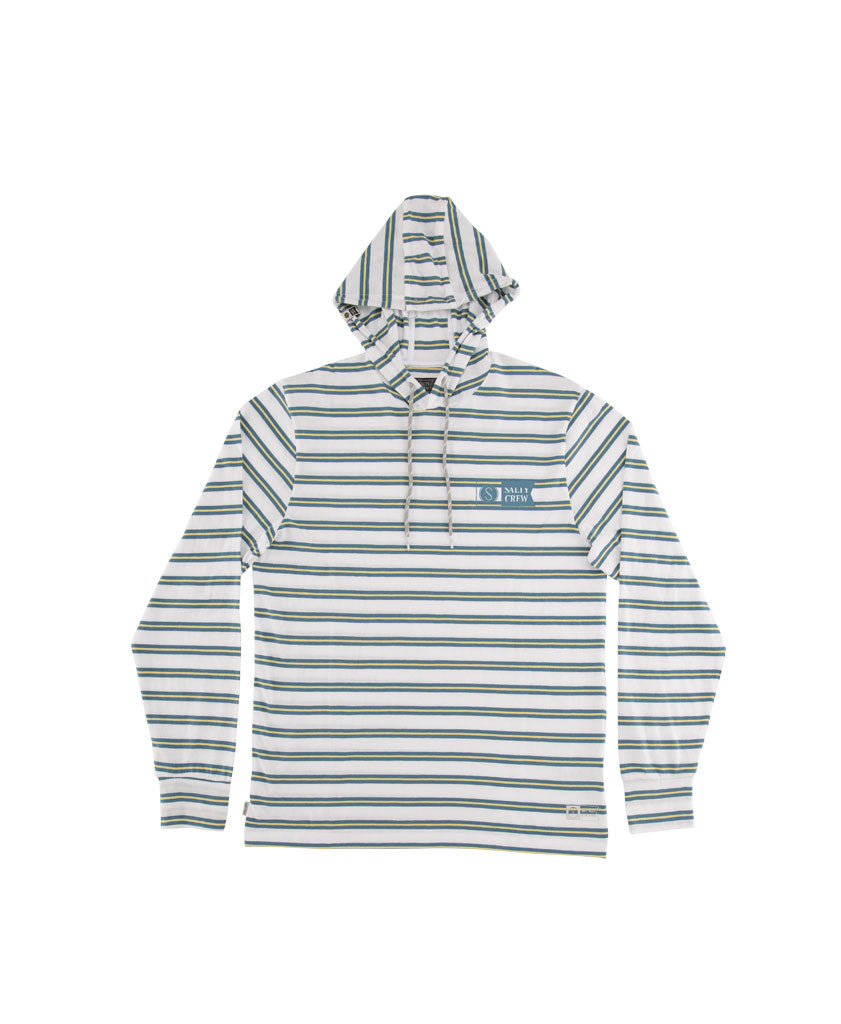 Pacifical Hood Tech Shirt - Salty Crew Australia