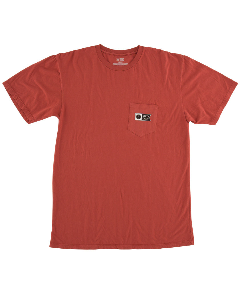 Topstitch Overdyed S/S Tee T Shirts - Salty Crew Australia