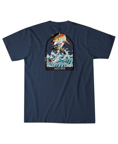 Poppin Off S/S Tee T Shirts - Salty Crew Australia