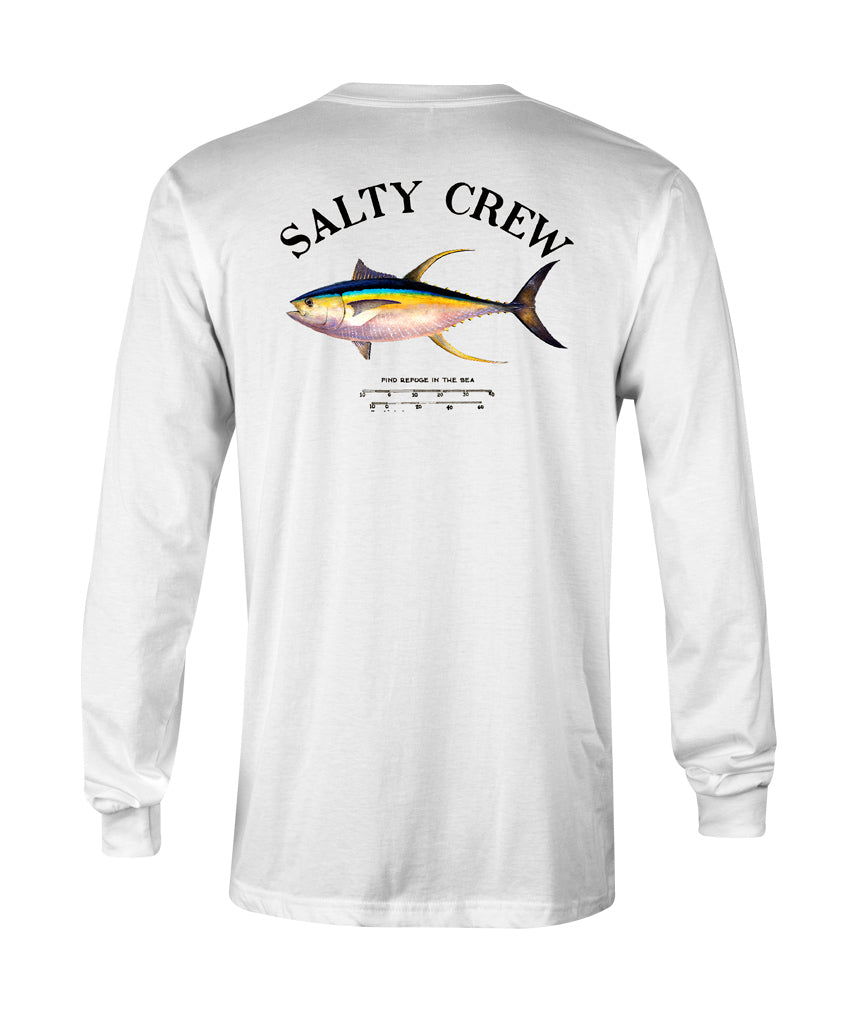 Ahi Mount L/S Tee Long Sleeve Tees - Salty Crew Australia
