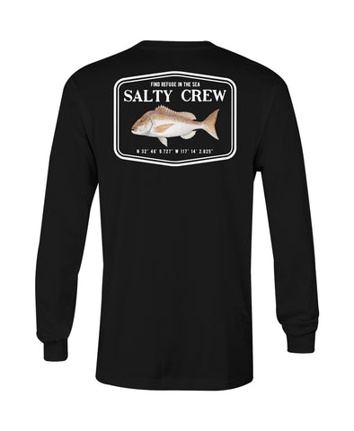 Snapper Mount L/S Tee Long Sleeve Tees - Salty Crew Australia