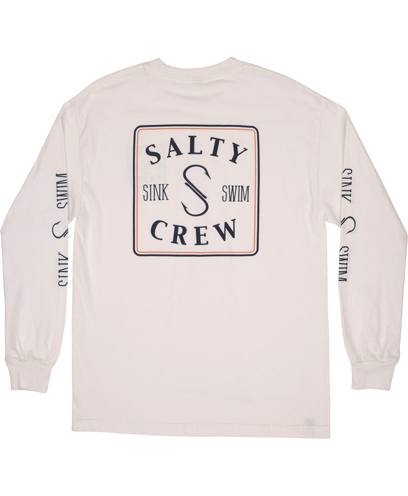 Squared Up L/S Tee Long Sleeve Tees - Salty Crew Australia
