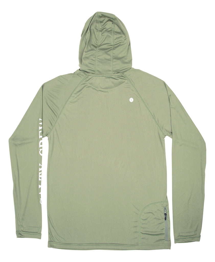 Alpha Pinnacle Tech Hood Mask Tech Shirts - Salty Crew Australia