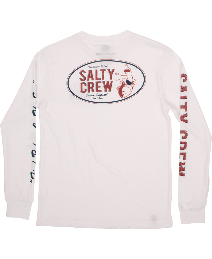 Soft Top L/S Boys Tee Boys - Salty Crew Australia