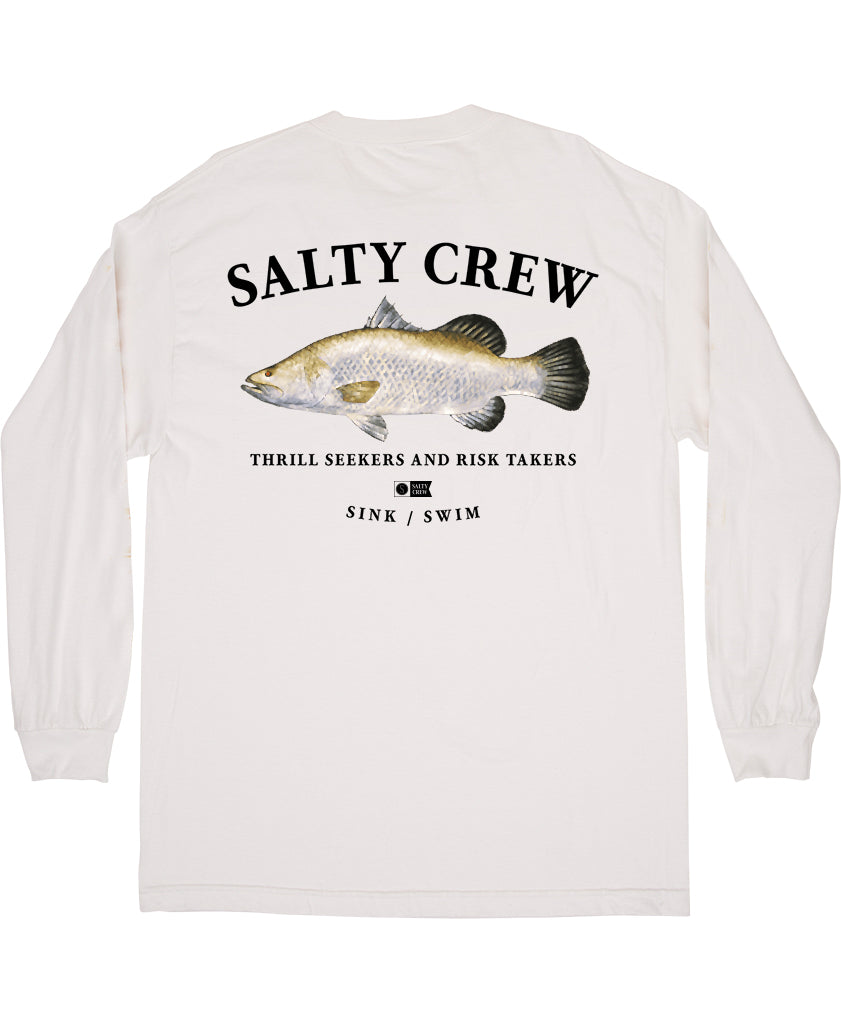 Barra L/S Tee Long Sleeve Tees - Salty Crew Australia