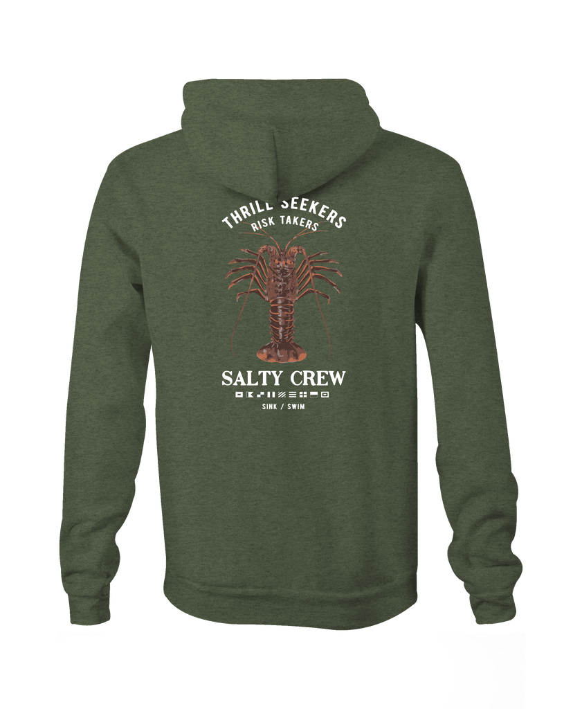 Buggin Out Zip Fleece - Salty Crew Australia