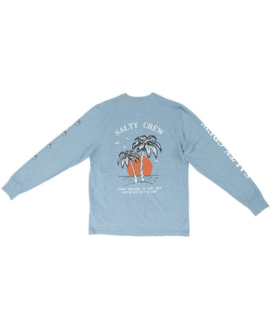 Twin Palm L/S Tech Tee Tech Shirts - Salty Crew Australia