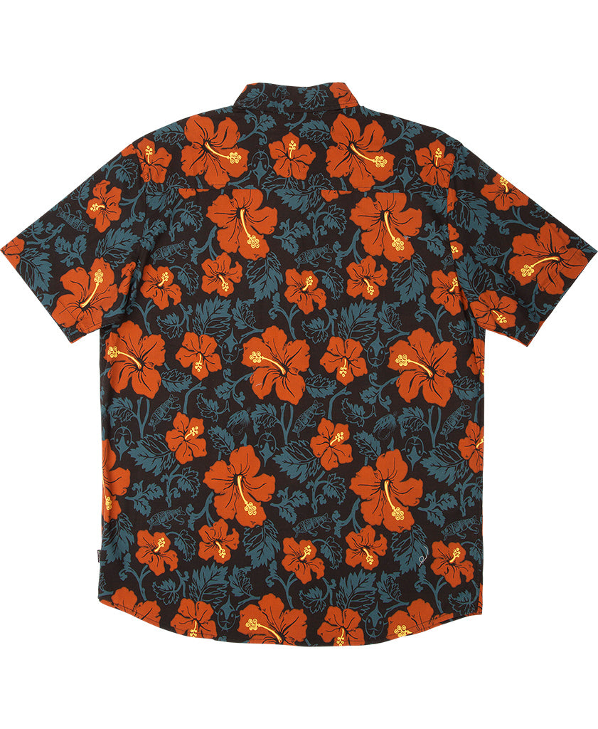 Hooked Floral S/S Woven