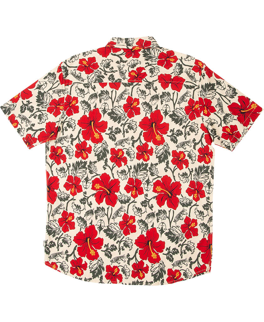 Hooked Floral S/S Woven - Salty Crew Australia