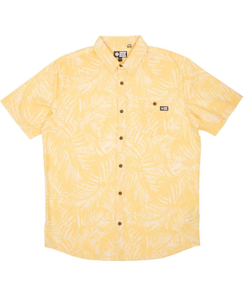 Weathered S/S Woven Tech Shirts - Salty Crew Australia