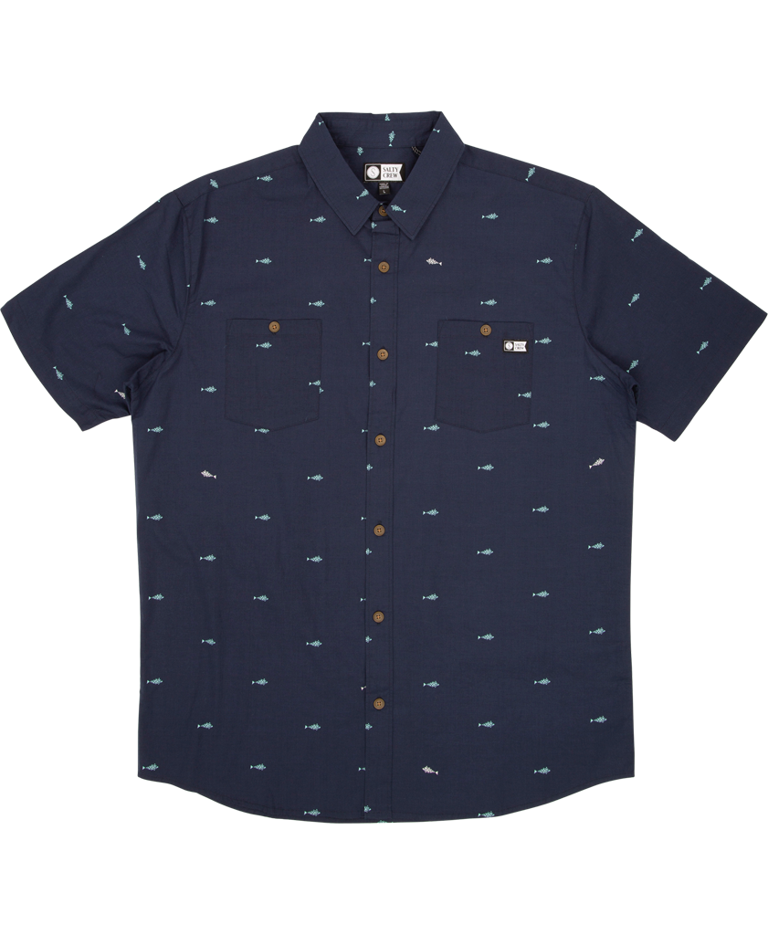 Provisions S/S Woven Tech Shirts - Salty Crew Australia