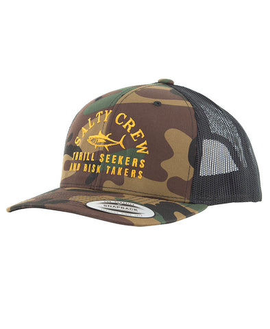 Fish Market Retro Trucker Hats - Salty Crew Australia