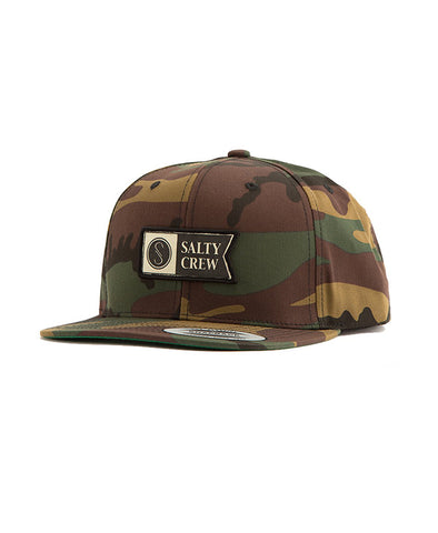 Alpha Stamped 6 Panel Hats - Salty Crew Australia