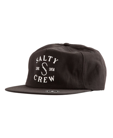 S Hook 5 Panel Hats - Salty Crew Australia