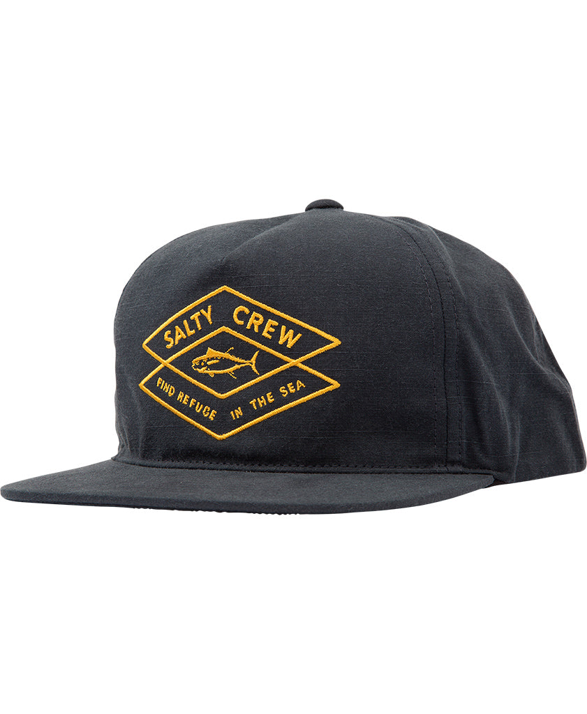 Tiller 5 Panel Hats - Salty Crew Australia