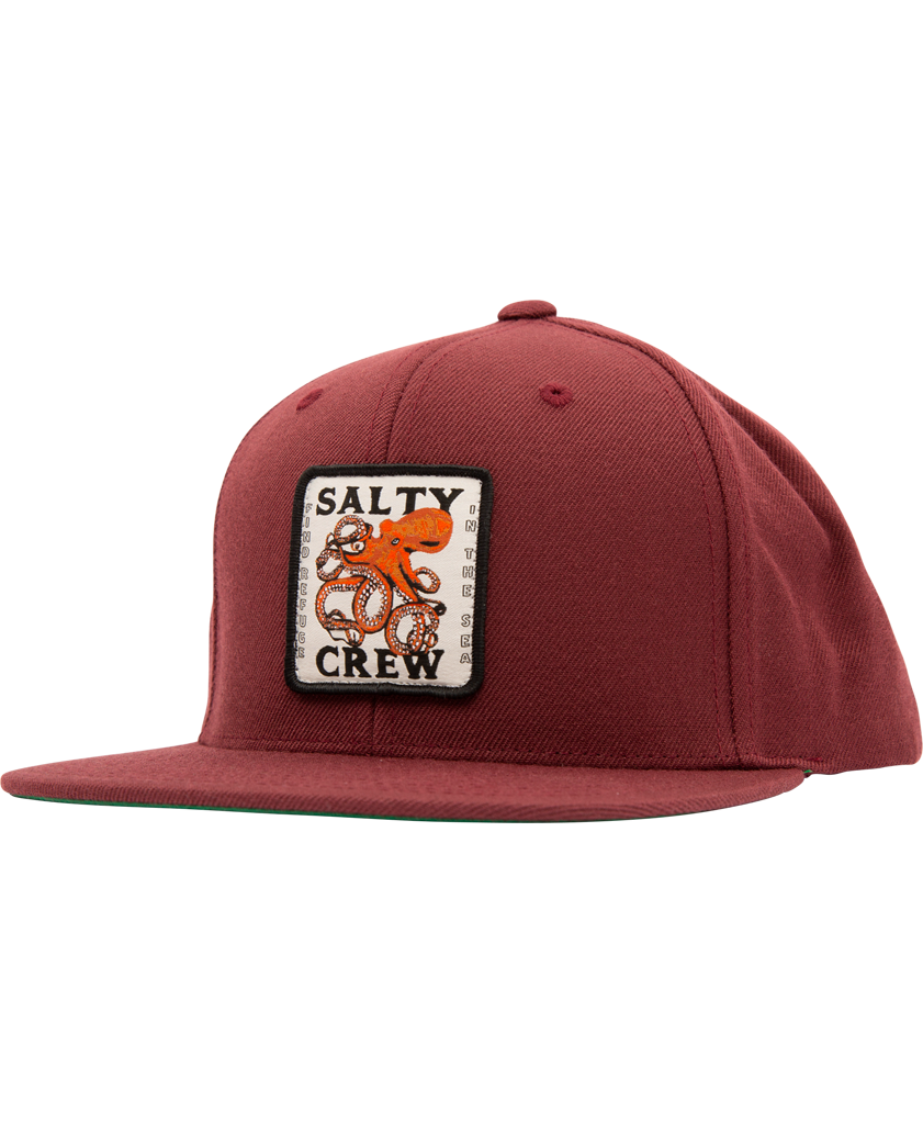 Squiddy 6 Panel Hats - Salty Crew Australia
