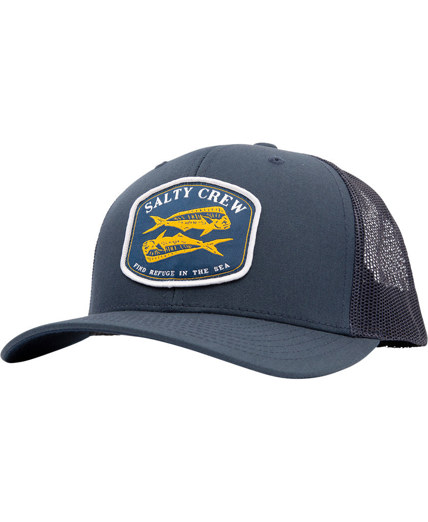 Double Up Retro Trucker Hats - Salty Crew Australia