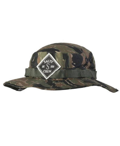 Tippet Patched Bucket Hat Hats - Salty Crew Australia