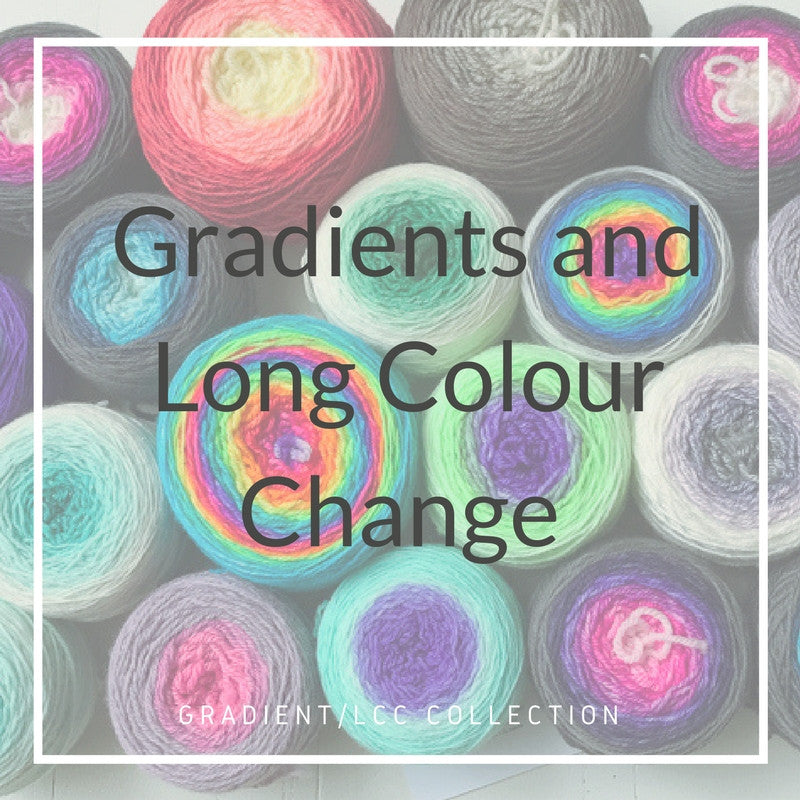 Gradients and Long Colour Change