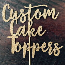 Custom Cake Toppers - Esina Designs