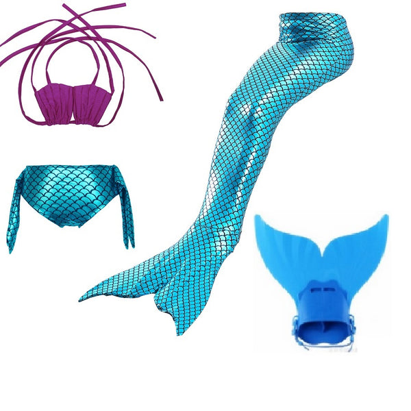 pink blue girls swimmable mermaid tails kids tail with for swimming costume monofin child swimwear children  sc 1 st  ZARAH LEGGINGS & pink blue girls swimmable mermaid tails kids tail with for swimming ...