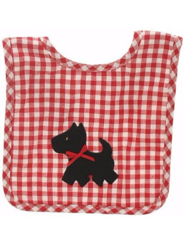 Alimrose Dog Bib - Red and White Check