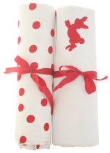 Alimrose Muslin Wraps - 2pk Red