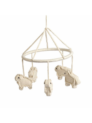 Anne-Claire Petit Organic Cotton Crochet Mobile