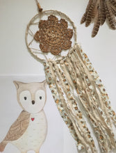 Handcrafted by Brooke Dream Catcher Owl