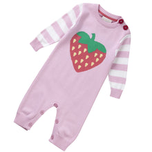 Piccalilly - Playsuit Strawberry Knit