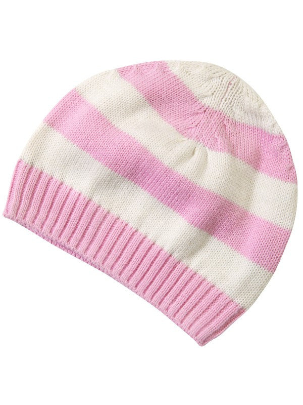Piccalilly - Beanie Hat - Pink 0-6M