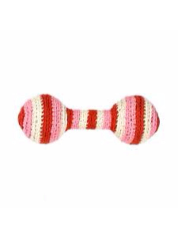 Anne-Claire Petit Organic Cotton Crochet Baby Rattle with Bell