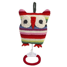 Anne-Claire Petit Organic Cotton Crochet Owl Music Box