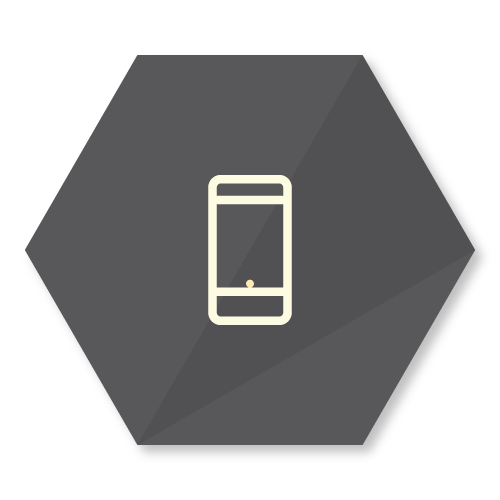 icon representing the bring your own device feature of the buzzbox app
