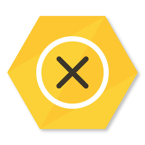 icon demonstrating the collapsed hive buzzbox classifier state