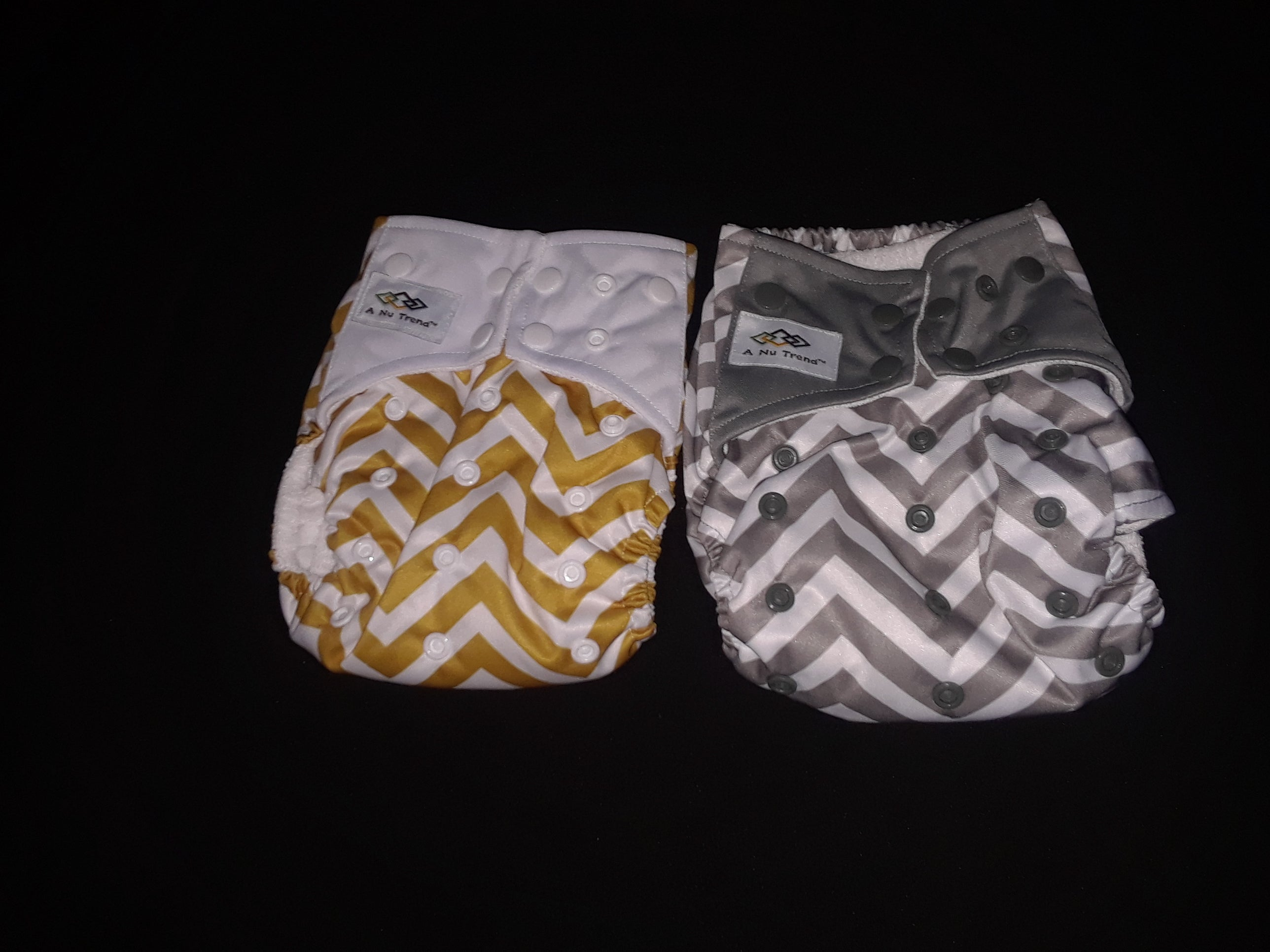 EMF/EMR Infant Cloth Diaper Gold - A Nu Trend