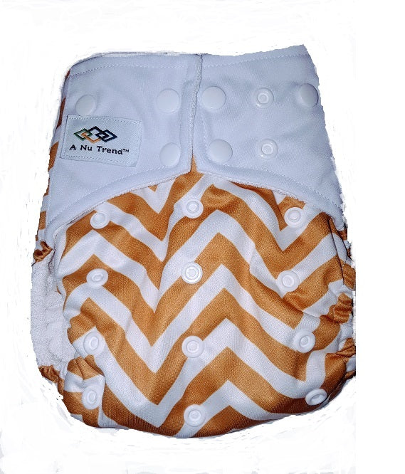 EMR/EMF Cloth Diaper Bundle Pack (5) Gold or Grey